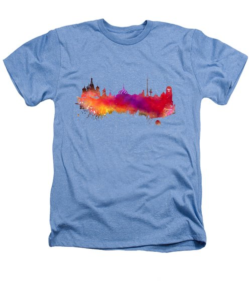 Moscow Skyline Heathers T-Shirt