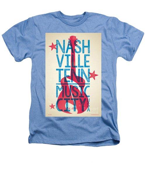 Nashville Tennessee Poster Heathers T-Shirt