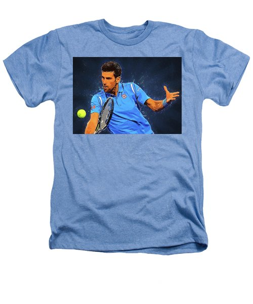 Novak Djokovic Heathers T-Shirt by Semih Yurdabak