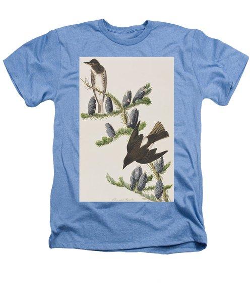 Olive Sided Flycatcher Heathers T-Shirt