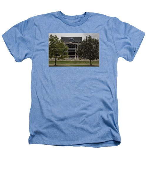 Penn State Beaver Stadium  Heathers T-Shirt by John McGraw