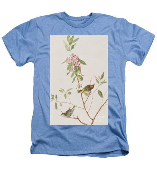 Ruby Crowned Wren Heathers T-Shirt