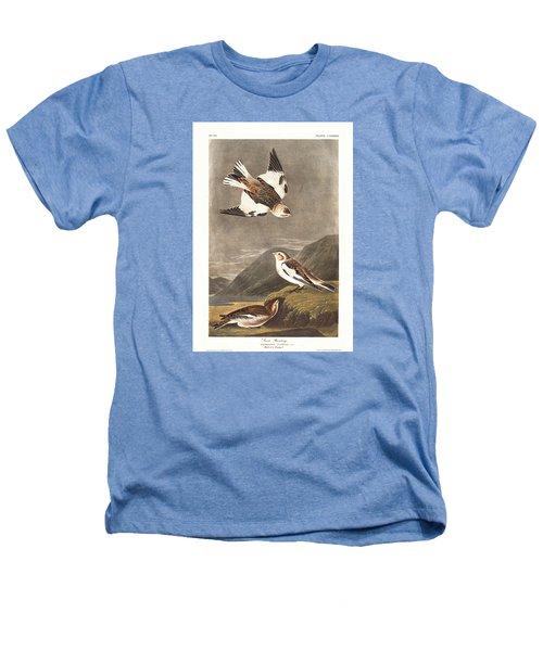 Snow Bunting Heathers T-Shirt by Anton Oreshkin