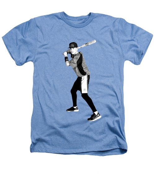 Southwest Aztecs Baseball Organization Heathers T-Shirt by Nicholas Grunas