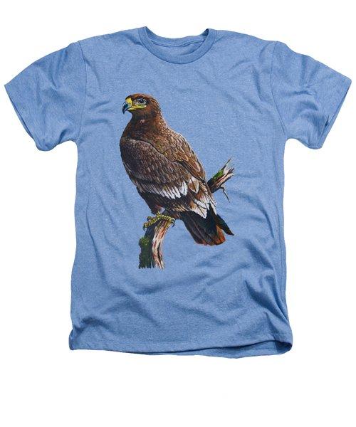 Steppe-eagle Heathers T-Shirt by Anthony Mwangi