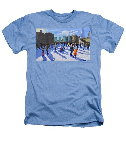 Tower Of London Ice Rink Heathers T-Shirt