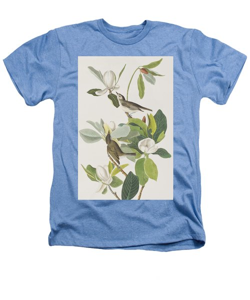 Warbling Flycatcher Heathers T-Shirt