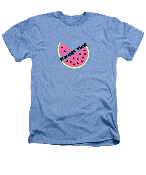 Watermelon Heathers T-Shirt by Alina Krysko