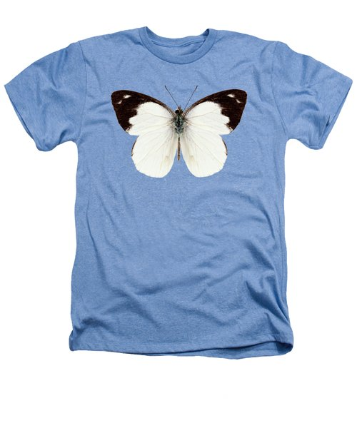 White Butterfly Species Apias Indra Indra Heathers T-Shirt