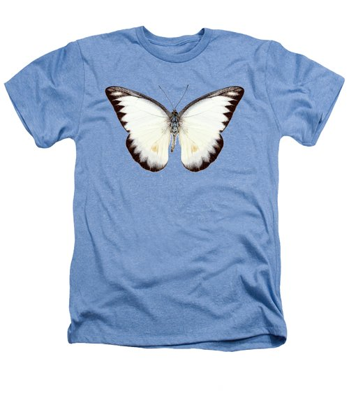 White Butterfly Species Appias Lyncida Heathers T-Shirt