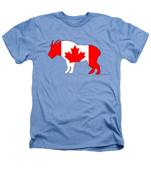 Wild Goat Heathers T-Shirt by Mordax Furittus