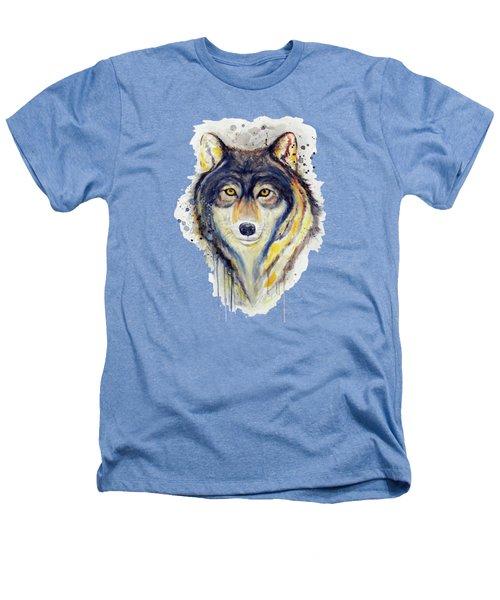 Wolf Head Heathers T-Shirt