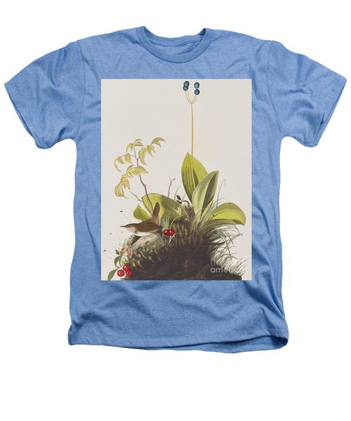 Wood Wren Heathers T-Shirt by John James Audubon