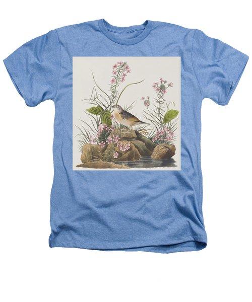 Yellow-winged Sparrow Heathers T-Shirt by John James Audubon