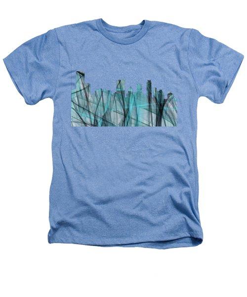 Austin Texas Skyline Heathers T-Shirt