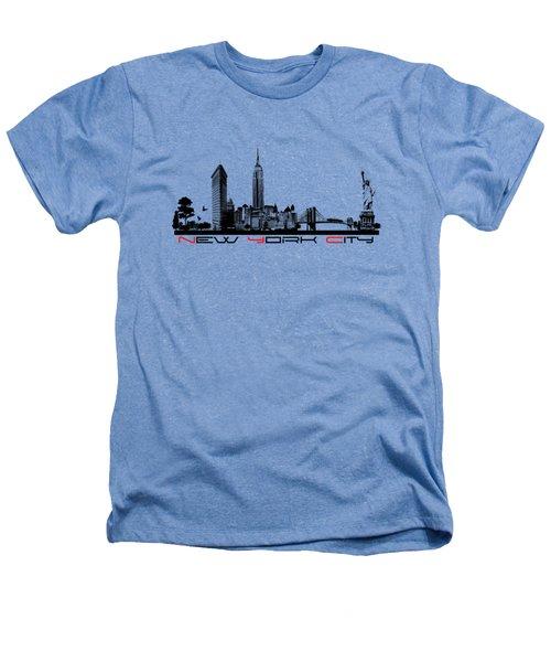 New York City Skyline  Heathers T-Shirt