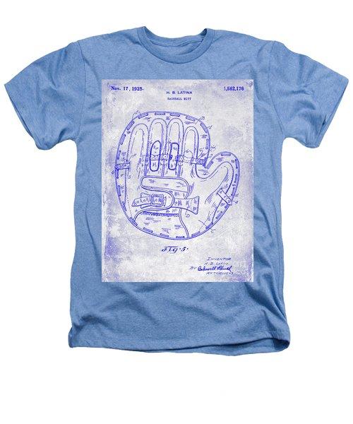 1925 Baseball Glove Patent Blueprint Heathers T-Shirt