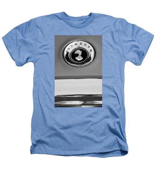1967 Plymouth Gtx Emblem -0206bw Heathers T-Shirt