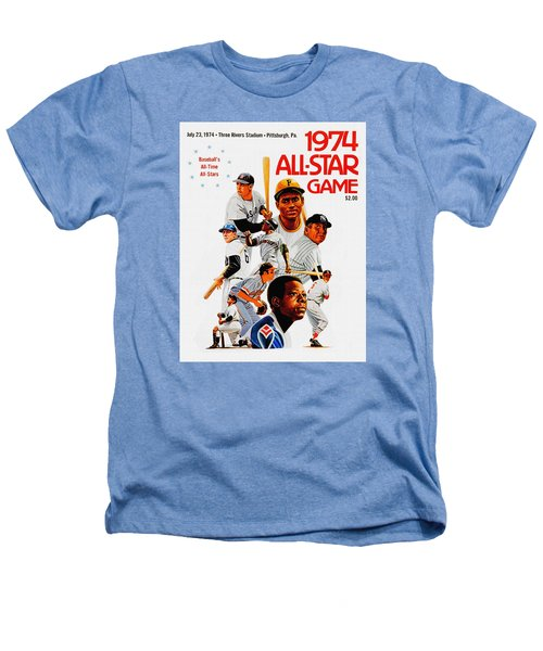 1974 Baseball All Star Game Program Heathers T-Shirt