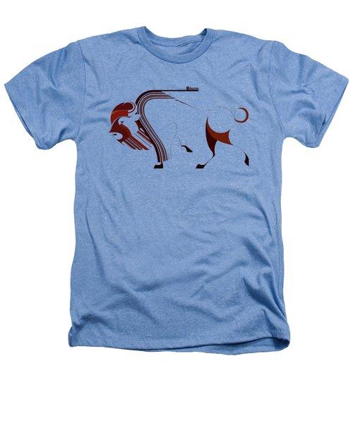 Bison Art Heathers T-Shirt