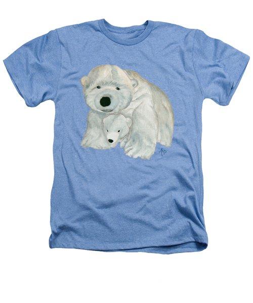 Cuddly Polar Bear Heathers T-Shirt