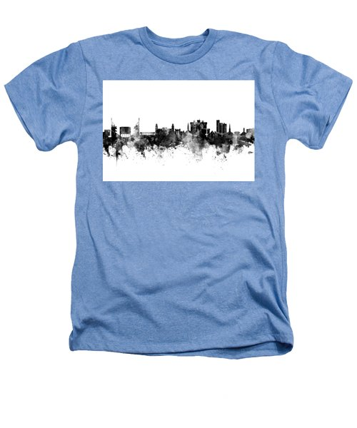 Fayetteville Arkansas Skyline Heathers T-Shirt by Michael Tompsett