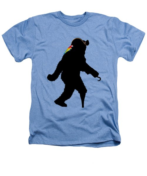 Gone Squatchin Fer Buried Treasure Heathers T-Shirt by Gravityx9  Designs