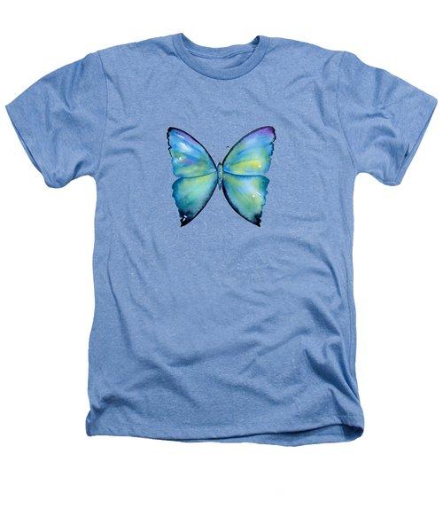 2 Morpho Aega Butterfly Heathers T-Shirt