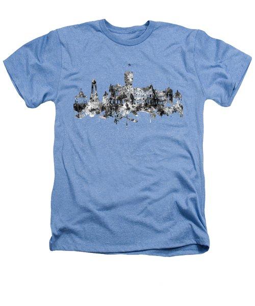 Rutherglen Scotland Skyline Heathers T-Shirt