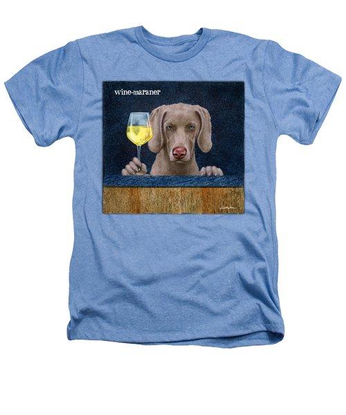 Wine-maraner Heathers T-Shirt