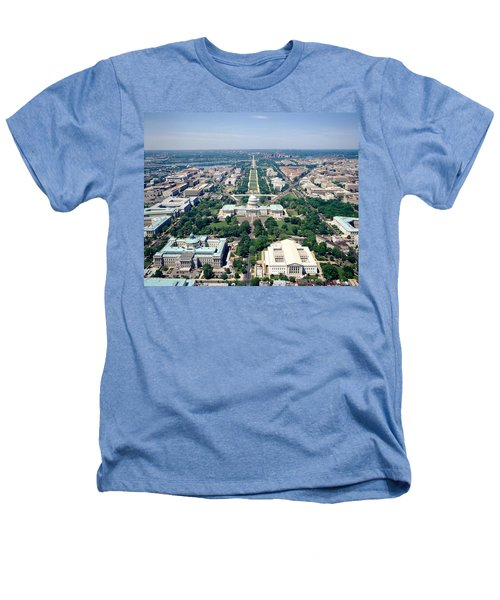 Aerial View Of Buildings In A City Heathers T-Shirt