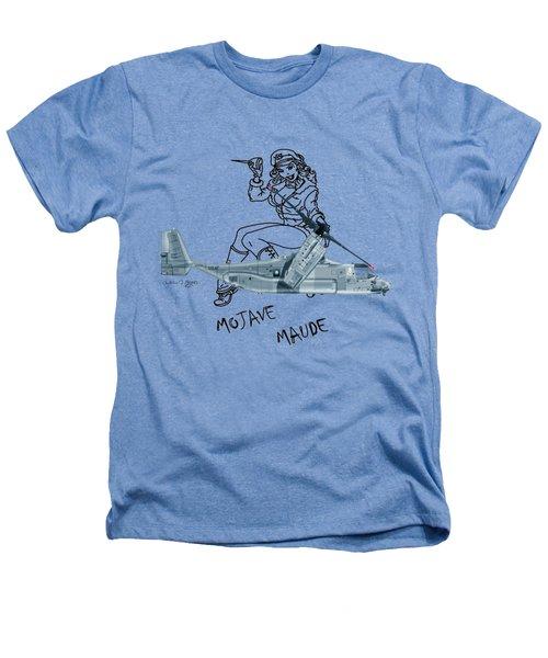 Bell Boeing Cv-22b Osprey Mojave Maude Heathers T-Shirt by Arthur Eggers