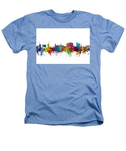 Fayetteville Arkansas Skyline Heathers T-Shirt