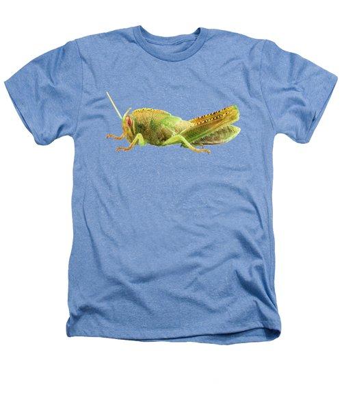 Nymph Of Egyptian Locust Species Anacridium Aegyptium Heathers T-Shirt