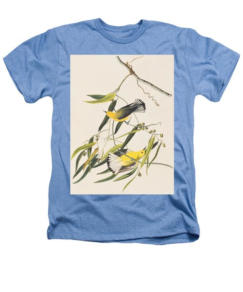 Prothonotary Warbler Heathers T-Shirt