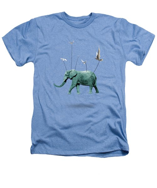Elephant Heathers T-Shirt by Mark Ashkenazi