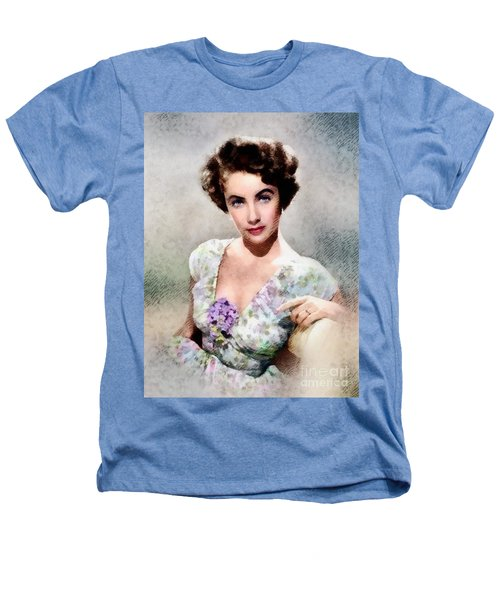 Elizabeth Taylor, Vintage Hollywood Legend Heathers T-Shirt by John Springfield