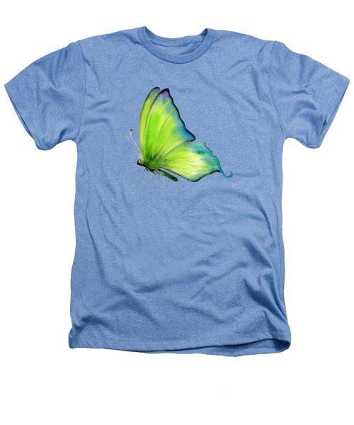 4 Skip Green Butterfly Heathers T-Shirt
