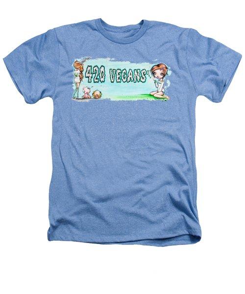 420 Vegans Heathers T-Shirt