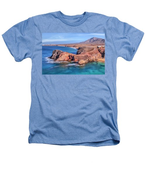 Playa Papagayo - Lanzarote Heathers T-Shirt