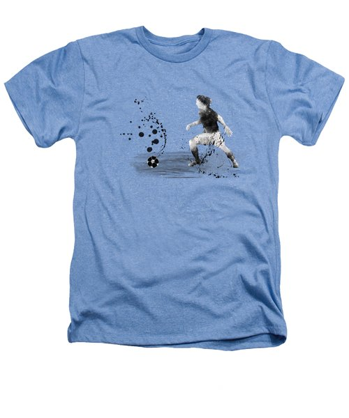 Football Player Heathers T-Shirt by Marlene Watson