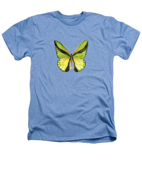 8 Goliath Birdwing Butterfly Heathers T-Shirt