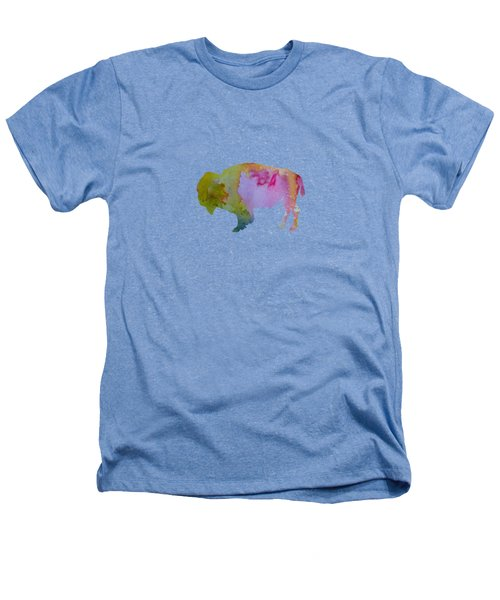 Bison Heathers T-Shirt by Mordax Furittus