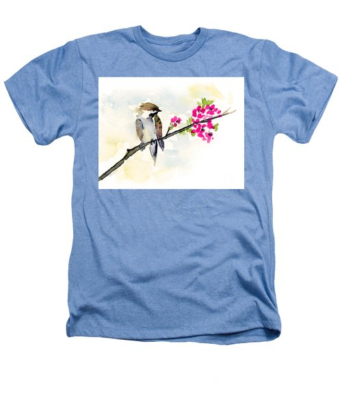 A Little Bother Heathers T-Shirt by Amy Kirkpatrick