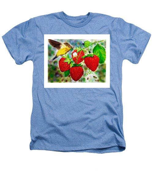A Midsummer Daydream Heathers T-Shirt by Asha Aravind