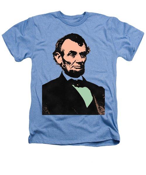 Abe Lincoln 2 Heathers T-Shirt by Otis Porritt