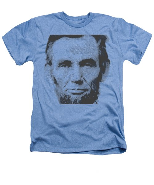 Abraham Lincoln - Parallel Hatching Heathers T-Shirt by Samuel Majcen