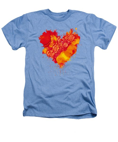 Abstract Intensity Heathers T-Shirt by Nikki Marie Smith