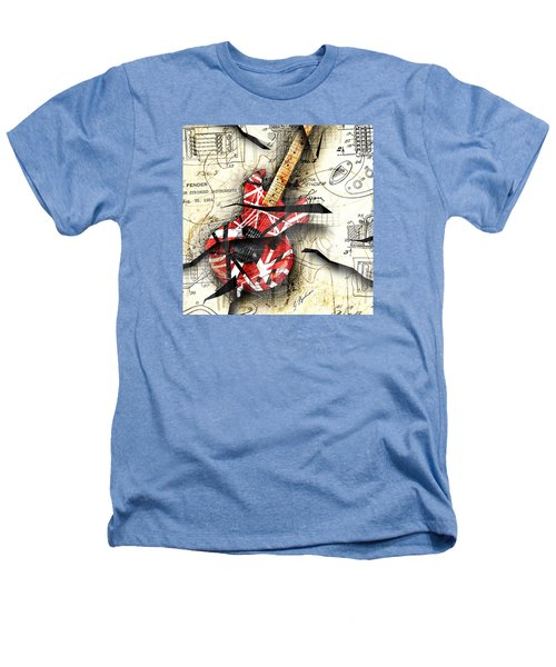 Abstracta 35 Eddie's Guitar Heathers T-Shirt by Gary Bodnar