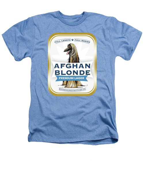 Afghan Blonde Premium Lager Heathers T-Shirt